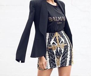 fashion, style, and Balmain image