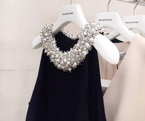 fashion, dress, and Balenciaga image