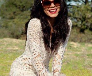 vanessa hudgens, dress, and smile image
