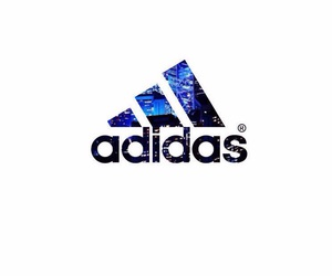 adidas, blue, and white image