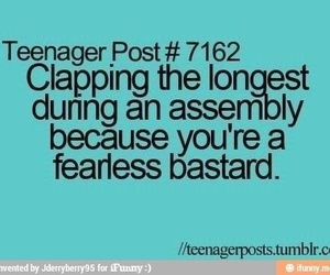 assembly, bastard, and teenager post image