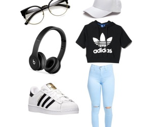 adidas, casual, and outfits image