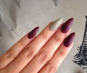 nails, pretty, and fashion image
