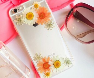 flowers, iphone, and case image