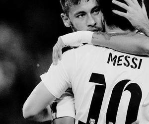 neymar, messi, and football image