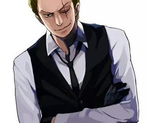 anime, one piece, and roronoa zoro image