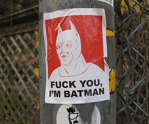 batman, fuck, and picture image