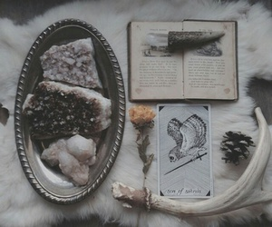 witch, book, and hipster image