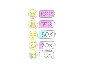 emojis, emoji, and battery image