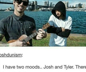mood, josh dun, and tyler joseph image