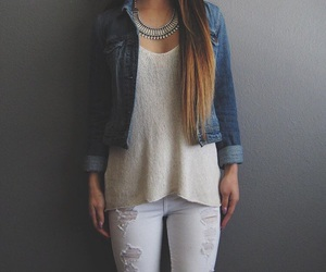 clothes, jeans, and spring image