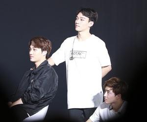 Chen, kai, and exo image