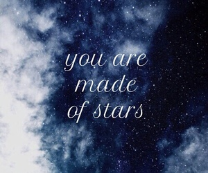 quote and stars image