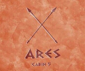 ares, percy jackson, and gods image