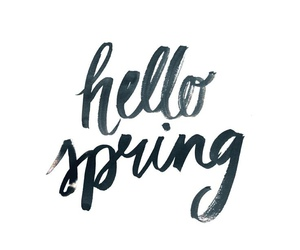 spring and hello spring image