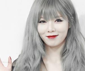 girl, hair, and korean image
