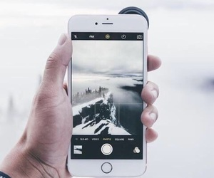 iphone, photography, and white image