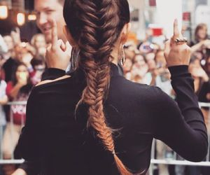 hair, selena gomez, and style image