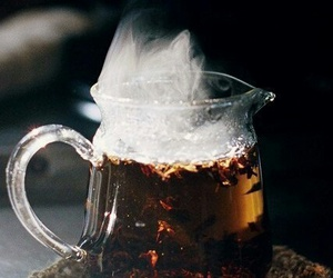 drink, photo, and tea image
