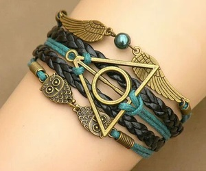 bracelet, harry potter, and bangle image