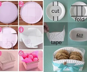 diy, Cookies, and box image