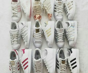 adidas, superstar, and instagram image