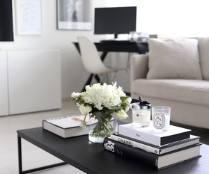 chanel, home, and living room image
