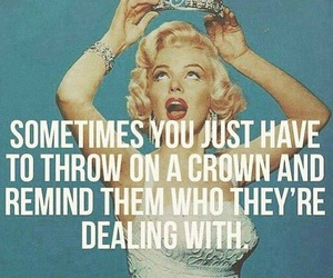 quotes, crown, and Queen image