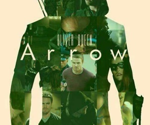 arrow, oliver queen, and series image