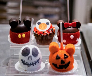 Halloween, food, and disney image
