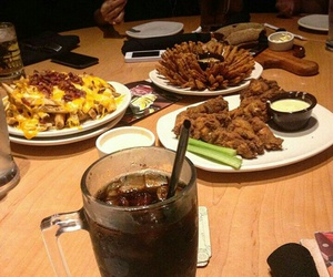 dinner, food, and outback image