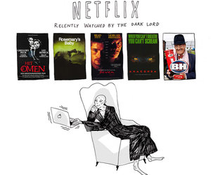 netflix, harry potter, and voldemort image