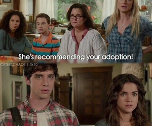 the fosters, brandon, and family image