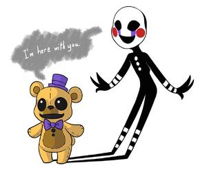 puppet, fnaf, and golden freddy image