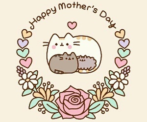 mother, cat, and happy image