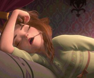 anna, disney, and funny image