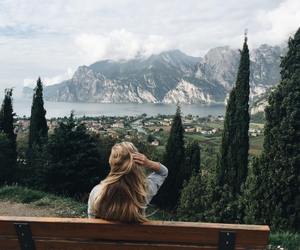 adventure, hair, and travel image