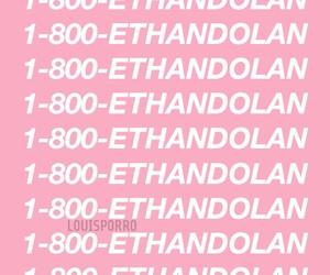 background, Drake, and pink image