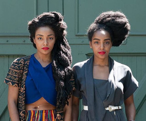 Afro, beautiful, and black image