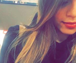 adorable, girl, and snapchat image