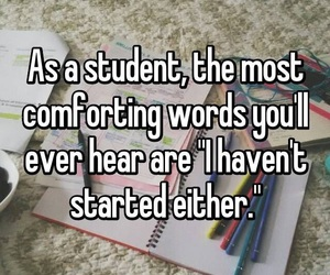 quote, school, and student image