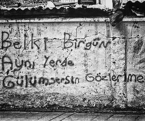 şiir sokakta, duvar yazıları, and türkçe image