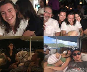 kendall jenner, Harry Styles, and one direction break image