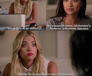 emily, hanna, and pll image