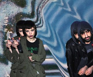 Crystal Castles and ethan kath image