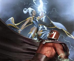 comics, Marvel, and storm image