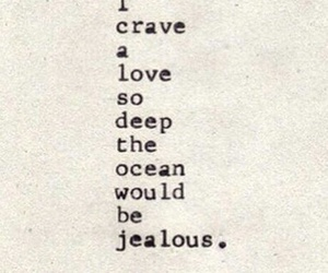 love, quotes, and ocean image