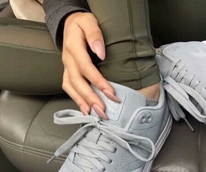 shoes, nails, and nike image