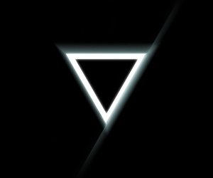 hipster, triangles, and triangulos image
