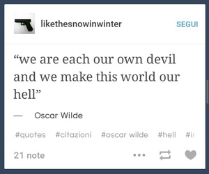 Devil, hell, and oscar image